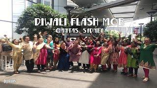Diwali Flash Mob - Qantas - Sydney 2018