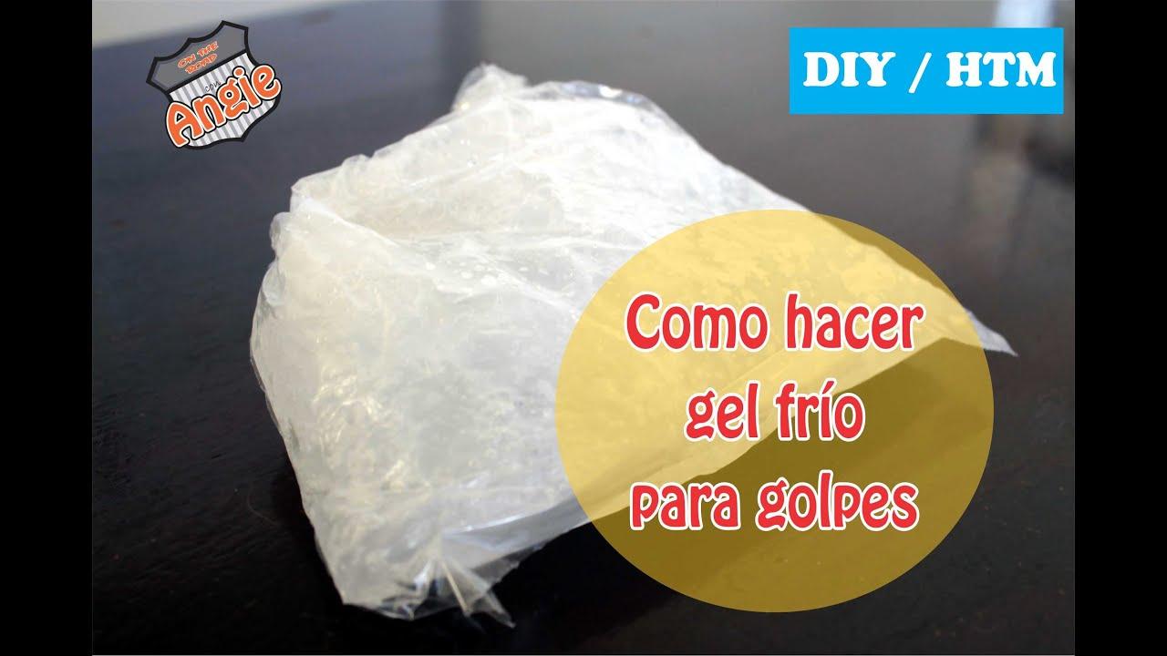 Diy htm como hacer una bolsa de gel frio youtube - Como hacer unas de gel en casa ...