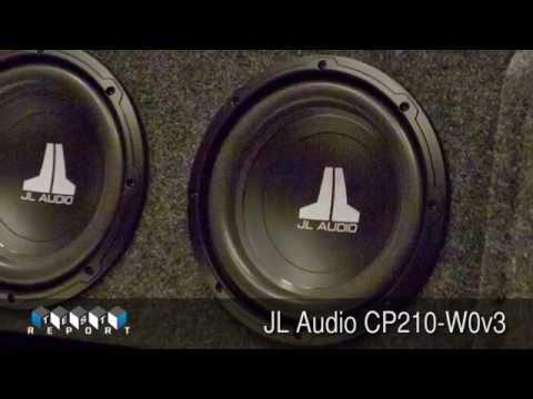 JL Audio CP210-W0v3 Woofer System