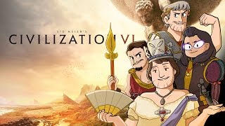 Civilization VI - #1 - A Barbaric Beginning! (Multiplayer Let's Play)
