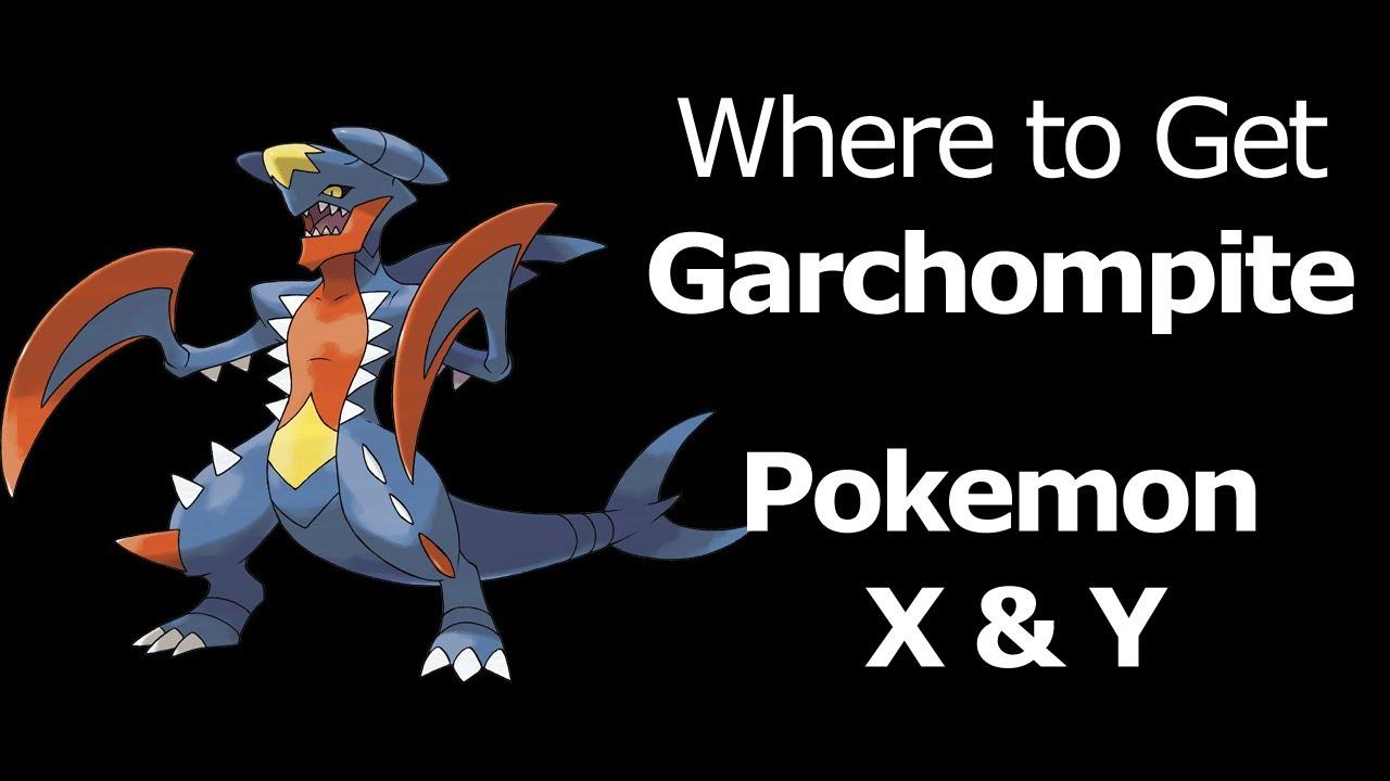 Pokemon Garchomp Mega Evolution Stone Garchompite Mega Garchomp