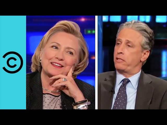Hillary Clinton | The Daily Show with Jon Stewart