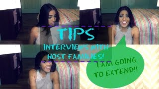 AU PAIR VLOG 7. Tips Interviews with Host Families [EXTENDING?]