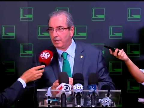 Coletiva De Eduardo Cunha Sobre Ordem De Chamada Em Plenário