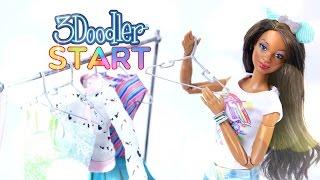 DIY - How to Make: 3Doodler - Doll Accessories - 4K