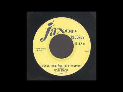 Carl Mann - Gonna Rock And Roll Tonight - Rockabilly 45