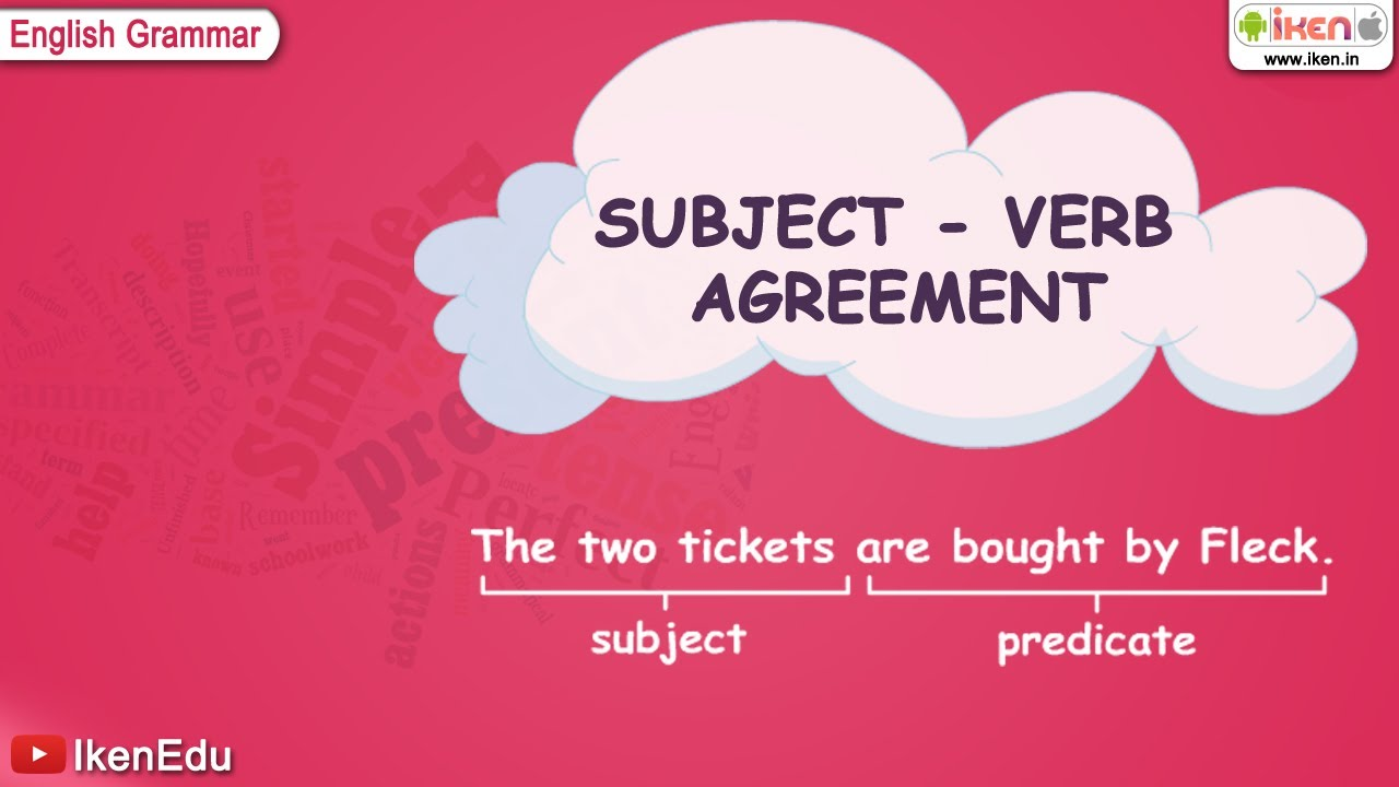 Subject Verb Pictures Subject-verb Agreement