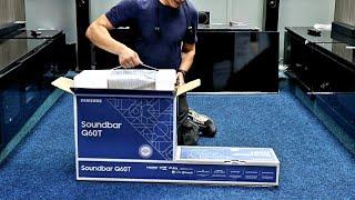 01. Samsung 2020 HW-Q60T Soundbar, Unboxing, Setup, Test and Dimensions