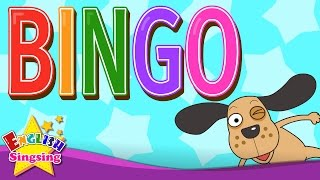 BINGO - Dog song - Nursery Rhymes - Popular Rhymes - English Song For Kids - for ESL Students