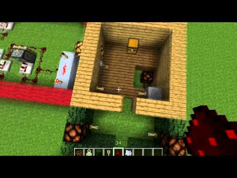 Minecraft How To Make A Working Alarm (security) System PC PS3 xbox 360 With Commentary