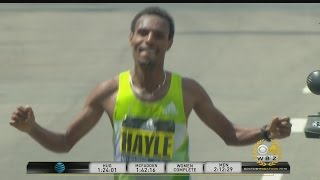 Lemi Berhanu Hayle Earns Boston Marathon Men's Crown