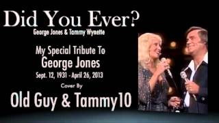 Watch George Jones Did You Ever video