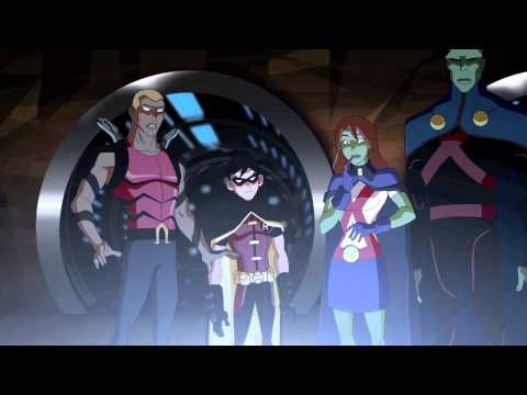 "2 - YOUNG JUSTICE ""Schooled"" Animated TV Series on Friday at the Cartoon Network"