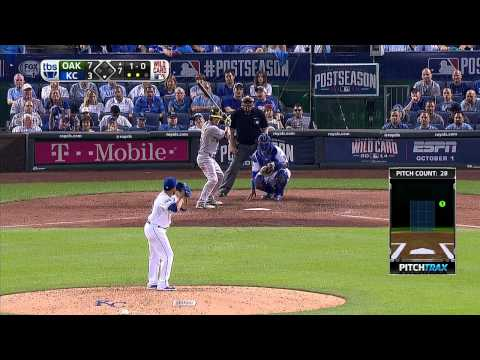 Wild Card: Royals vs. Athletics [Full Game HD]