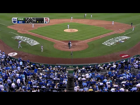 Wild Card: Royals vs. Athletics [Full Game HD]