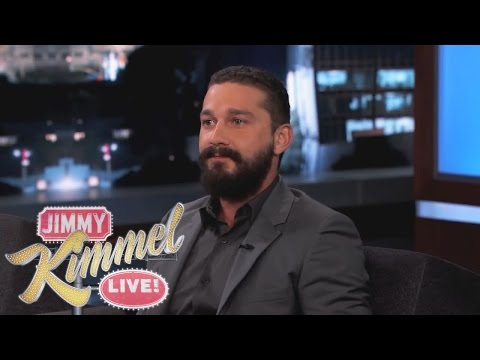 Shia LaBeouf on Jimmy Kimmel Live PART 3