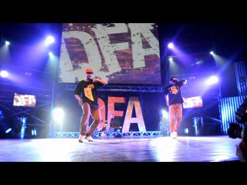 Kenzo & Sanchez SHOWCASE | DFA 2013 | Art Through Hip Hop