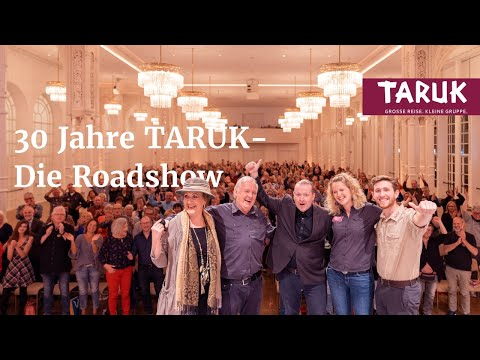 TARUK Reisen wird 30 Jahre – Die Roadshow