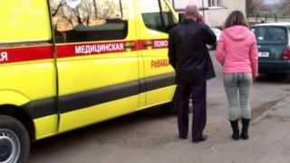 Ambulanță din Rusia, de la Rîbnița, la Spitalul de Urgență