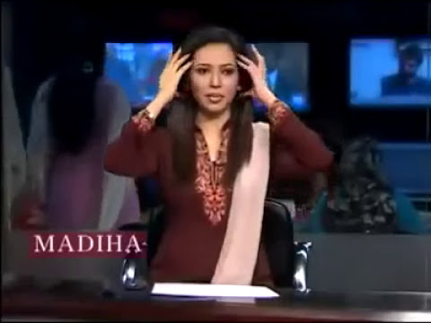 News Anchor Behind The Scene