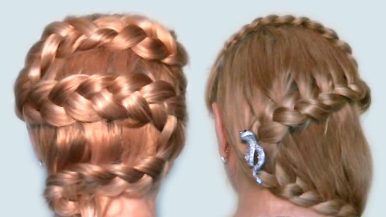 Детские причёски на длинные волосы в домашних условиях для девочек
