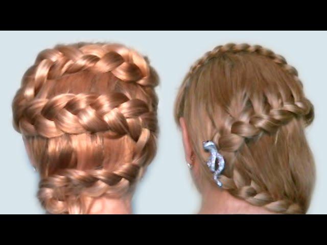 Современные плетения на длинные волосы. Фото №9