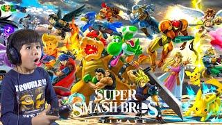 10 Minutes of Super Smash Bros. Ultimate World of Light Gameplay (Adventure Mode)-Nintendo Switch