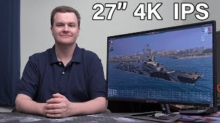"4K 27"" IPS Monitor - Under $250 - Epic Deal"