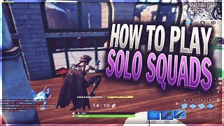 How to Play Solo Squads in Fortnite Season 7