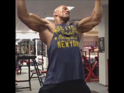 "Dwayne ""The Rock"" Johnson´s Workout in Budapest / Hercules #FOCUS 2013"