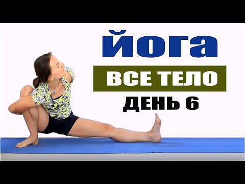 Виньяса йога на все тело 40 минут | День 6 | chilelavida