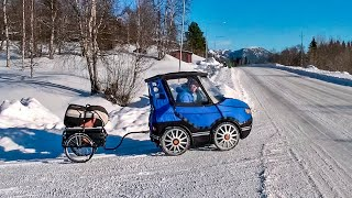 INCREDIBLE BICYCLE CAR, COOL INVENTIONS OF THE NEW GENERATION