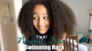 Protecting Her Hair From Chlorine | First Day Of Swimming! | Interracial Family Vlogs