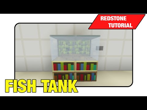 Fish Tank Moving Fish Tank Showcase Tutorial Minecraft Xbox 360 One Ps3 Ps4 TU17