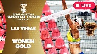 Las Vegas 4-Star - 2018 FIVB Beach Volleyball World Tour - Women Gold Medal Match