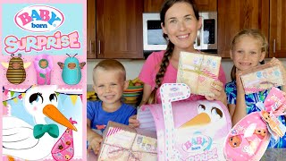 🌸Baby Born Surprise!🦋Unboxing Huge Surprise from MGA Entertainment! 🍼New Tiny Baby Born Dolls!!!