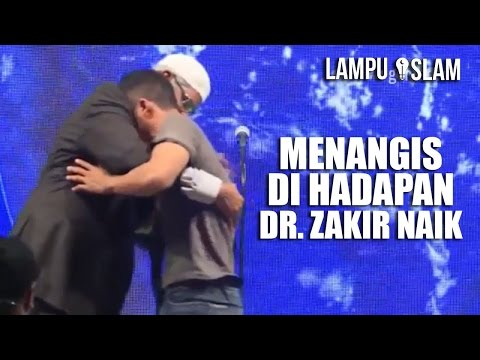 PEMUDA MURTAD Masuk Islam Kembali dan MENANGIS di Hadapan Dr. Zakir Naik