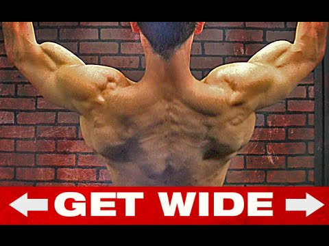 The BIG BACK Workout Wideners (2 BEST EXERCISES!!)
