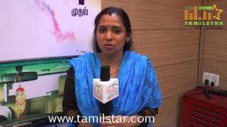 Tamil Selvi At Onbathula Irunthu Pathu Varai Movie Team Interview