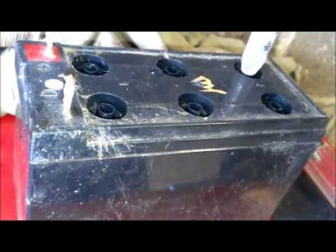 Restoring a sealed lead acid battery