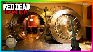 Red Dead Online SECRET Bank Vault Found - What Things Are Inside, Bank Heist Location & MORE! (RDR2)