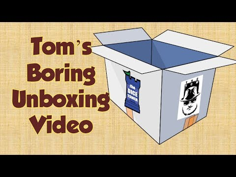Tom's Boring Unboxing Video 4-17-2018