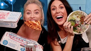 our first mukbang ft. JOSLYN DAVIS