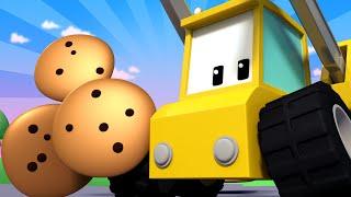 - Tiny Trucks for Kids with Street Vehicles Bulldozer, Excavator & Crane
