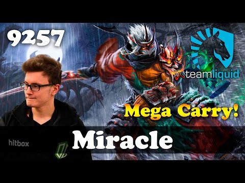 Miracle Juggernaut Mega Carry   9257 MMR Dota 2