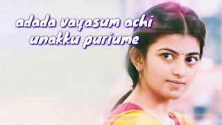 En manasu unakku sariya theriume Tamil Whatsapp st