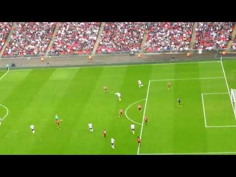 Tottenham at Wembley stadium 14/10/17 block 550 row 22 seat 303