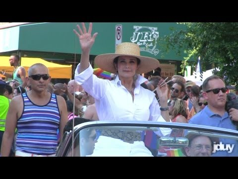 Lynda Carter (aka WONDER WOMAN) at Capital Pride Parade 2013