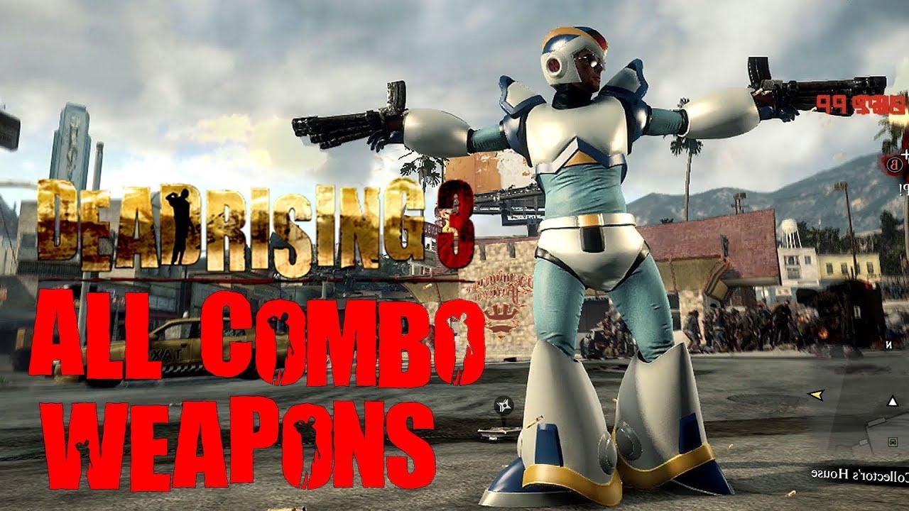 dead rising 3 weapon list - photo #16