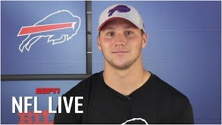 Josh Allen: Defenses have to respect my running ability | NFL Live